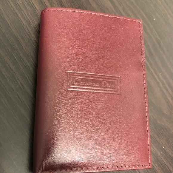 961abfad5c9 Vintage Christian Dior Men s Leather Wallet